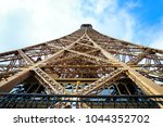 the eiffel tower in the spring | Shutterstock . vector #1044352702