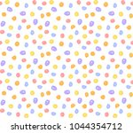 colorful dot pattern  red  blue ...   Shutterstock .eps vector #1044354712
