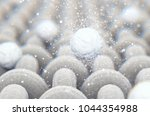 a microscopic close up view of... | Shutterstock . vector #1044354988