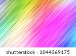 light multicolor  rainbow... | Shutterstock .eps vector #1044369175