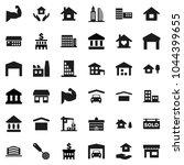 flat vector icon set   house...   Shutterstock .eps vector #1044399655