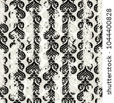 seamless vintage pattern with... | Shutterstock .eps vector #1044400828