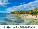 cancun  mexico   january 10 ... | Shutterstock . vector #1044409666