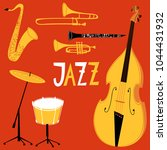 vector musical instruments for... | Shutterstock .eps vector #1044431932