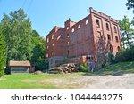 View of the building of a mill of Gerdauen of 1909 of construction. Zheleznodorozhnyj, Kaliningrad region