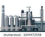 a blast furnace shop. vector... | Shutterstock .eps vector #1044472558