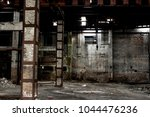 Abandoned Building Interior ...