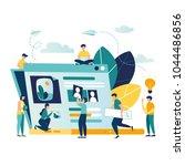 vector creative illustration ... | Shutterstock .eps vector #1044486856
