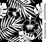 seamless pattern with tropical... | Shutterstock .eps vector #1044499066