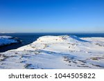 arctic ocean  winter time  snow ... | Shutterstock . vector #1044505822