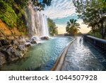 scenic view of waterfall of... | Shutterstock . vector #1044507928