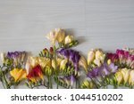 spring flowers and spring mood 6 | Shutterstock . vector #1044510202