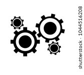 gear vector. cogwheel and... | Shutterstock .eps vector #1044516208