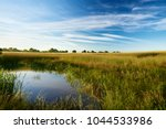 view over agricultural fields... | Shutterstock . vector #1044533986