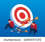 business concept failed | Shutterstock .eps vector #1044547192