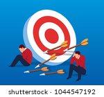 business concept failed | Shutterstock .eps vector #1044547192