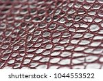 crocodile leather for... | Shutterstock . vector #1044553522