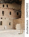 spruce tree house   ancestral... | Shutterstock . vector #1044570202
