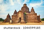 buddhist temple le myet hna in... | Shutterstock . vector #1044599185