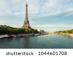 eiffel tower in paris from the...   Shutterstock . vector #1044601708