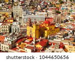 guanajuato mexico view during... | Shutterstock . vector #1044650656