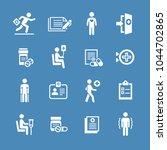 set of medical symbols | Shutterstock .eps vector #1044702865