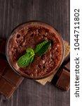 chocolate  coffee  milk  banana ... | Shutterstock . vector #1044711802