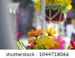 flower images leave blank void... | Shutterstock . vector #1044718066