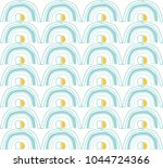 seamless repeating pattern.... | Shutterstock .eps vector #1044724366