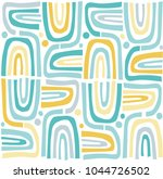 seamless repeating pattern.... | Shutterstock .eps vector #1044726502