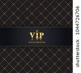 abstract luxury vip background...   Shutterstock .eps vector #1044726706