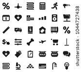 flat vector icon set   mop...   Shutterstock .eps vector #1044727438