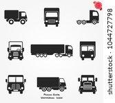 truck icons vector | Shutterstock .eps vector #1044727798