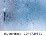 hot water vapor condensed on...   Shutterstock . vector #1044729592
