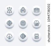 hosting service  network... | Shutterstock .eps vector #1044738202