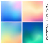 abstract vector multicolored...   Shutterstock .eps vector #1044749752