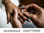 man proposed for marriage | Shutterstock . vector #1044773905