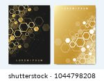 business vector templates for... | Shutterstock .eps vector #1044798208
