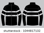 safety jacket design  ... | Shutterstock .eps vector #1044817132