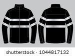 safety jacket design  ... | Shutterstock .eps vector #1044817132