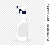 design product bottle with... | Shutterstock .eps vector #1044826552
