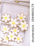 gingerbread cookies in the... | Shutterstock . vector #1044843175
