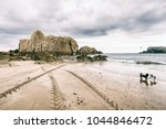 picturesque scene of abandoned... | Shutterstock . vector #1044846472