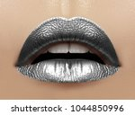 beautiful closeup with female... | Shutterstock . vector #1044850996