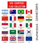 g20 countries flag collection   ... | Shutterstock .eps vector #1044873895