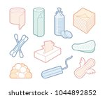 products from a paper and... | Shutterstock .eps vector #1044892852