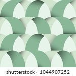 seamless pattern  simple curved ...