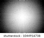 radial halftone pattern texture.... | Shutterstock .eps vector #1044916738