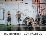 group of sportsmen and... | Shutterstock . vector #1044918502