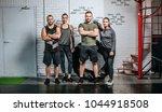 group of sportsmen and... | Shutterstock . vector #1044918508